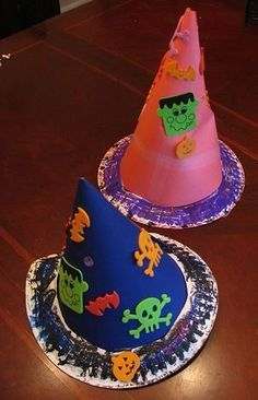 Witch or Wizard Hat Craft for Kids | Naturally Educational