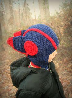Big Hero 6 Hiro Hamada Inspired Crochet Helmet Hat by Allurability