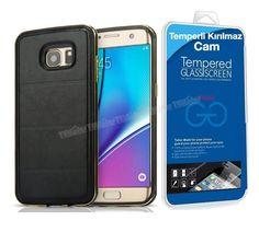 Samsung Galaxy S7 Derili Metal Kılıf Kapak Siyah + Kırılmaz Cam -  - Price : TL37.90. Buy now at http://www.teleplus.com.tr/index.php/samsung-galaxy-s7-derili-metal-kilif-kapak-siyah-kirilmaz-cam.html