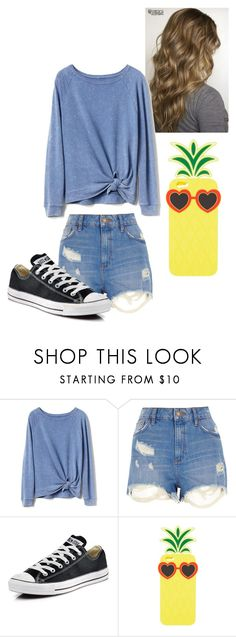 """""""Untitled"""" by allisonlee1234 ❤ liked on Polyvore featuring Gap, River Island, Converse and Charlotte Russe"""