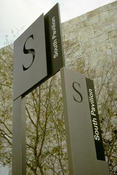 #wayfinding and #signage. #S