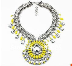 2014 Shourouk New Jewelry for  European and American Women Fashion Shourouk Necklace $25.80  WhatsApp:8613786383830