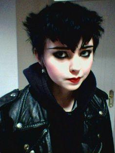 Super cute punk pixie