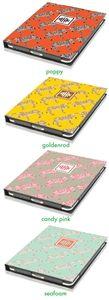 Nico and Lala Zebra iPad Cover