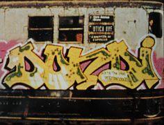 DONDI CIA nyc subway graffiti #graffiti