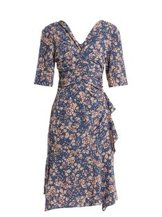 Click here to buy Isabel Marant Brodie floral-print zip-through dress at MATCHESFASHION.COM