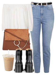 """""""Untitled #6573"""" by laurenmboot ❤ liked on Polyvore featuring Topshop, ASOS, Chloé and rag & bone"""