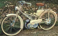 Cyclomoteur / moped Mobylette AV 47, Saint-Quentin, France