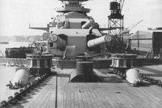Bismarck Artillery Turrets