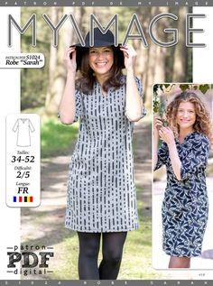 Robe SARAH Patron de Couture + Tutoriel - Patrons de couture chez Makerist