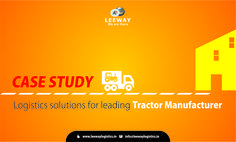 Leeway Logistics case study - A Leading Tractor Manufacturer  When the second largest tractor manufacturer in India looking for a Supply Chain Service provider to manage the key logistics functions at the yard it turned to Leeway logistics for simplification and value for money. Check our case study on http://lnkd.in/bQYfg9T  Visit www.leewaylogistics.in or send your query to info@leewaylogistics.in