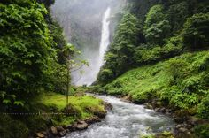 Lake Sebu in the Philippines. Seven Line Falls http://i.imgur.com/y5SvK3P.gifv