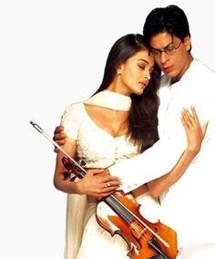 Shahrukh Khan and Aishwarya Rai - Mohabbatein (2000)