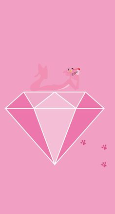 Color Theory Therapy| Serafini Amelia| Illustration-Pink Panther Diamond
