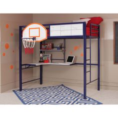 Powell Hoops Basketball Bed / Bunk Bed
