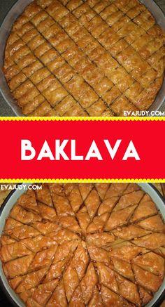 BAKLAVA Cookie Desserts, Cookie Recipes, Dessert Recipes, Dessert Ideas, Pumpkin Coffee Cakes, Tomato Pie, Phyllo Dough, Christmas Snacks, Baked Fish