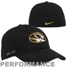 Nike Missouri Tigers Dri-FIT Swoosh Flex Hat - Black - $24.99