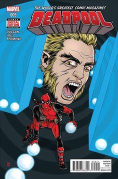 Deadpool #9 Marvel Comics (2016)