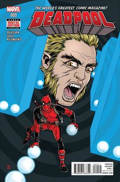 MARVEL COMICS (W) Gerry Duggan (A) Matteo Lolli (CA) Mike Allred • DEADPOOL VS. SABRETOOTH, Parts II & III! • When two unkillable men go to war, there's bound to be collateral damage. • But this time,