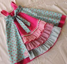 Kids Dress Wear, Little Girl Dresses, Girls Dresses, Party Dresses, Baby Girl Dress Design, Girls Frock Design, Design Girl, Cotton Frocks For Kids, Kids Frocks