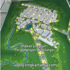 #MaketSiteplan Kawasan Kirana Uttama - Cileungsi