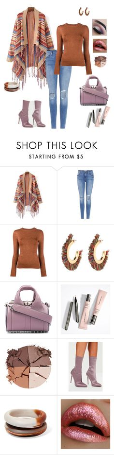 """""""Без названия #81"""" by andragorachic ❤ liked on Polyvore featuring Frame, JoosTricot, Alexander Wang, lilah b., Missguided, Dinosaur Designs and California Love"""