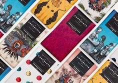 Wellington Chocolate Factory sur l'emballage du Monde - Creative Package Design Gallery