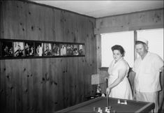 Like all proud parents, Gladys and Vernon decorated their Audubon home with photos of their son.