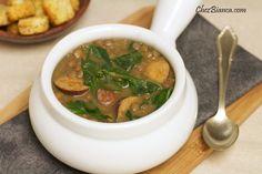 Sopa de lentilha | Acompanhamentos > Lentilha | Receitas Gshow