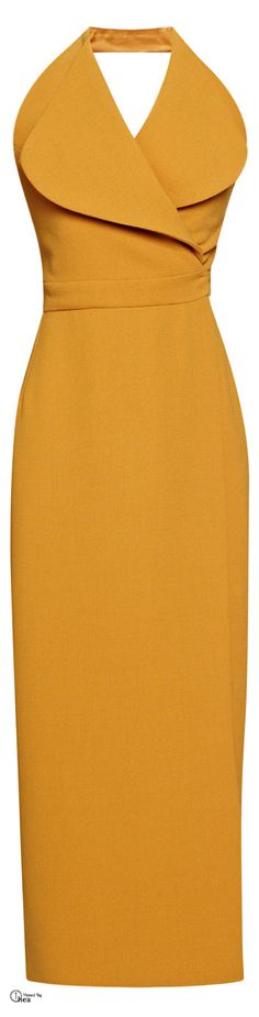 Emilia Wickstead, FW 2014 ● Halter dress