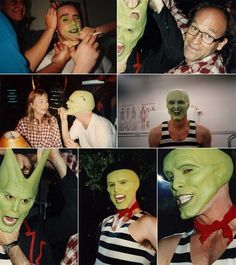 #TheMask1994 behind the scenes  Jim Carrey(Stanley)