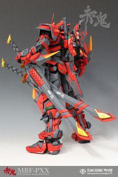 PG 1/60Gundam Astray Red Ghost - Custom Build     Modeled by Team Zeonic