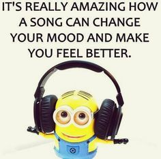 Saturday Minions quotes of the hour PM, Saturday January 2016 PST) - 10 pics - Minion Quotes Minions Love, Minions Despicable Me, Funny Minion, Minions Quotes, Top Funny, Just For Laughs, Music Quotes, Funny Jokes, Laughter