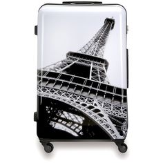 "SUITSUIT Paris Hard Shell ABS 3 Piece Luggage Set 20"" 24"" 28"" featuring polyvore fashion bags luggage"