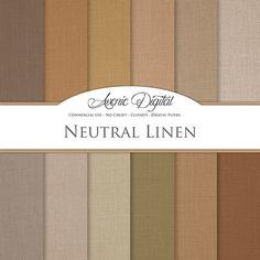 Linen Digital Paper