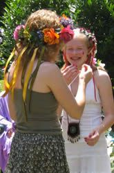 Coming of Age Menarche Kit First Menstruation Menarche Ceremony Moontime Coming of Age Ceremony Menarche Party Multicultural Girl's Puberty Rite of Passage Sacred Feminine, Divine Feminine, Period Party, Flower Head Wreaths, Moon Time, Hippie Baby, Red Party, Rite Of Passage, Birthday Celebration