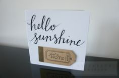 Handcrafted gifts crafted by Elizabeth May Jamieson by EMJLondon Elizabeth May, Hello Sunshine, Uk Shop, Craft Gifts, Handmade Cards, Etsy Seller, Notes, Create, Kid Craft Gifts
