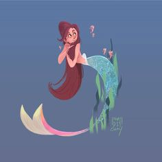Mermaid Artwork, Concept Art, Disney Characters, Fictional Characters, Disney Princess, Artist, Instagram, Design, Conceptual Art