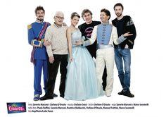 CERCASI CENERENTOLA - Paolo Ruffini e Manuel Frattini soprendenti Principe e consigliere Rodrigo nello spettacolo della Compagnia della Rancia insieme a Beatrice Baldaccini.