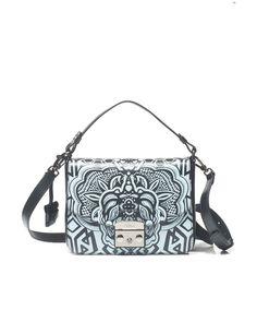 Furla | Blue Metropolis Small Bag In Leather | Lyst