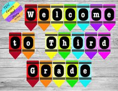 Welcome to Fourth Grade crayon banner * Teachers * Classroom Owl Classroom Door, Neon Classroom Decor, Teacher Classroom Decorations, Classroom Banner, Classroom Themes, Second Grade Teacher, First Grade Classroom, Fourth Grade, Third Grade