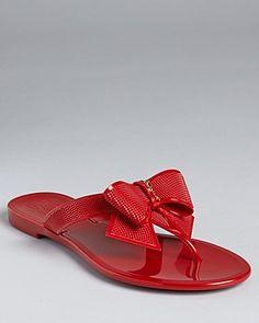 54e1775aa Salvatore Ferragamo Sandals - Bali Jelly Flip-Flop Shoes - Bloomingdale s