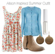 Allison Inspired Summer Outfit by veterization on Polyvore featuring polyvore, мода, style, Étoile Isabel Marant, Aéropostale, Lord & Berry, fashion and clothing