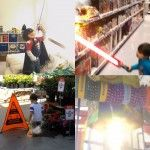 DreamWorks Special Effects Artist Transforms His Son into a Superhero // LIGHTSABERS YESSS
