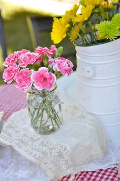 Domestic Fashionista | Creative Homemaking, Home Decor, DIY, Entertaining, Simple Living: Country Backyard Birthday Party