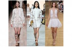 Trends SS15 Valentino-RobertoCavalli-Chloe. Luisa World Blog Ss15 Trends, Ss 15, Chloe, Valentino, Raincoat, Dresses With Sleeves, Long Sleeve, Fashion, Rain Jacket
