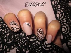 Pizzo by TokiaNails - Nail Art Gallery nailartgallery.nailsmag.com by Nails Magazine www.nailsmag.com #nailart