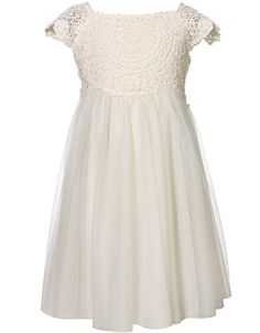 Baby Estella Dress  2582372622  £40.00  Beautiful party dress, stunning lace embroidery detail, fully lined with a net overlay.