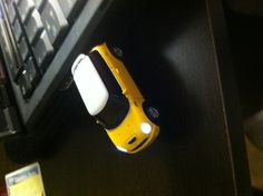 Yellow Mini Cooper USB!