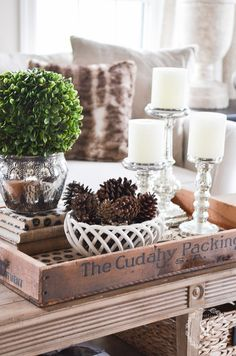 216 best Vignettes & Tabletop Decor images on Pinterest in 2018 ...